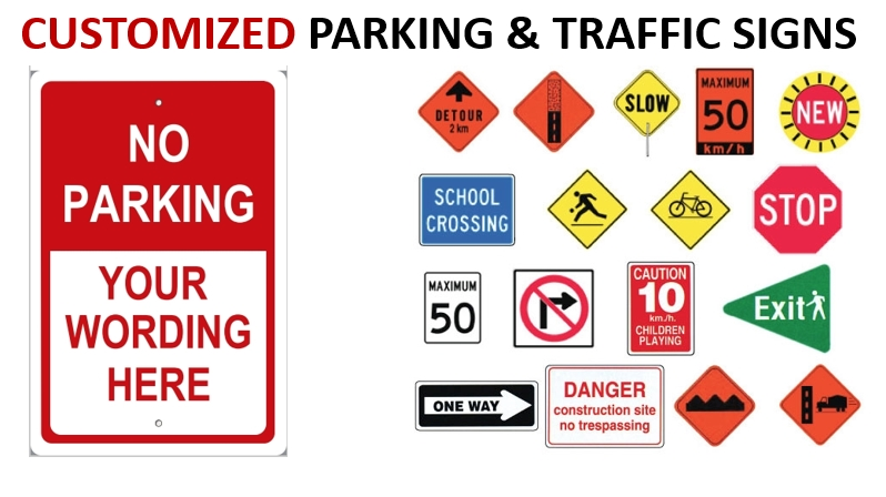 Customized Parking Signs